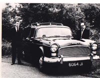 Robin Steenson is shown opposite pictured with his father, Thomas, shortly after joining the business in 1960.